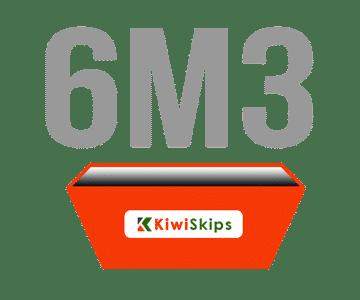 6 Metre Skip Bin