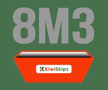 8 Metre Skip Bin